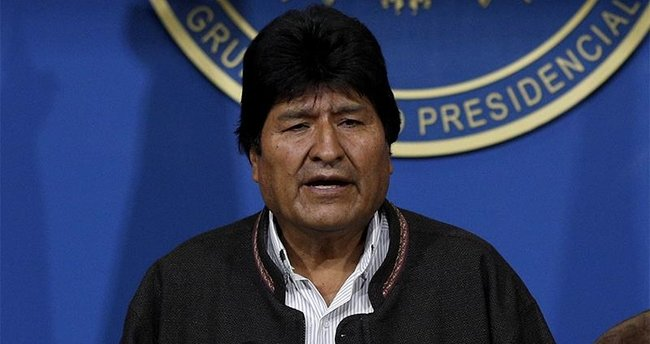 Eski devlet başkanı Morales'ten Filistin'e destek