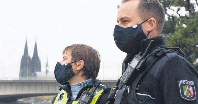 Polise maske mecburiyeti