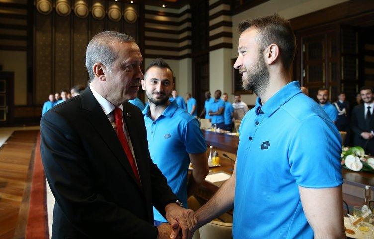 Çaykur Rizespor'dan Cumhurbaşkanı'na ziyaret