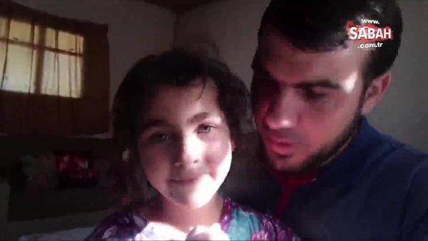 Kızlarının İsrail hava saldırısı korkusunu yenmeye çalışanGazzelibababombardımanda hayatını kaybetti   Video