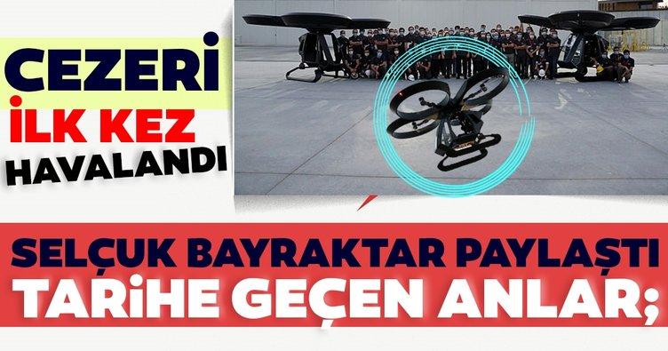 Son dakika: Türkiye'nin ilk uçan arabası Cezeri havalandı