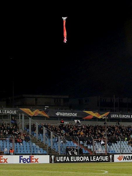 Dudelange - Karabağ maçında büyük skandal!