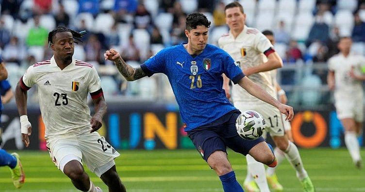 Belçika'yı yenen İtalya Uluslar Ligi'nde üçüncü oldu! Beşiktaş'ın yıldızı Michy Batshuayi...