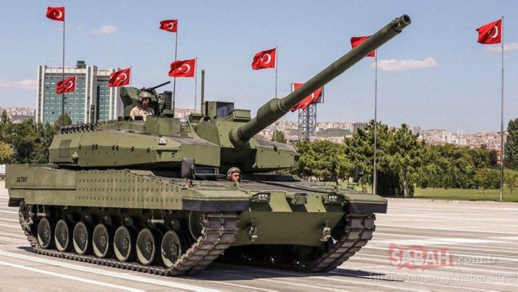 Son dakika: Altay tankının seri üretim sözleşmesi imzalandı