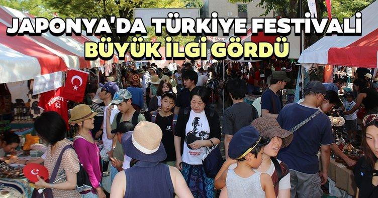 Japonya'da Türkiye Festivali büyük ilgi gördü