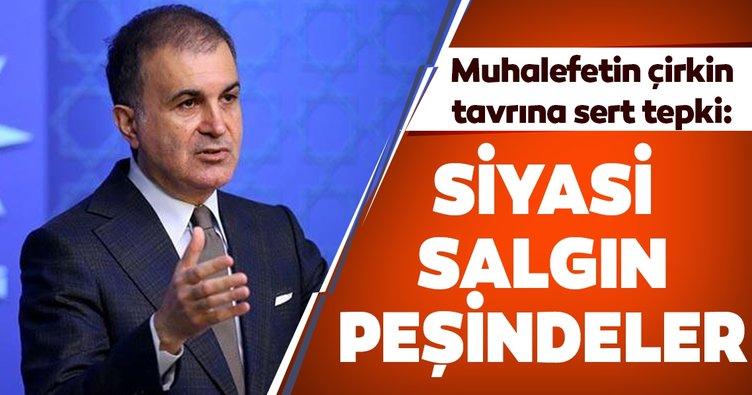 AK Parti Sözcüsü Çelik'ten muhalefete sert tepki: Siyasi hastalık üretmeye ara vermeyenler...