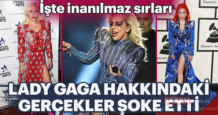 Lady Gaga'nın hayatı şoke etti