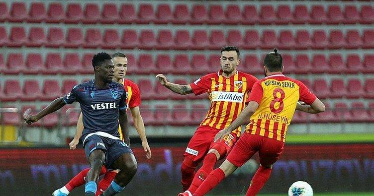 Kayserispor 1-2 Trabzonspor | MAÇ SONUCU