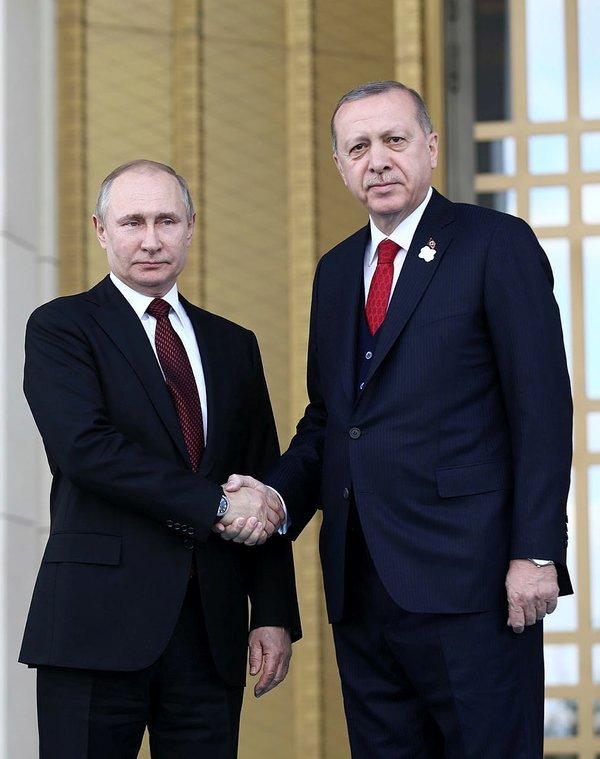 Rusya lideri Vladimir Putin'in Ankara ziyaretinden yansıyan kareleri