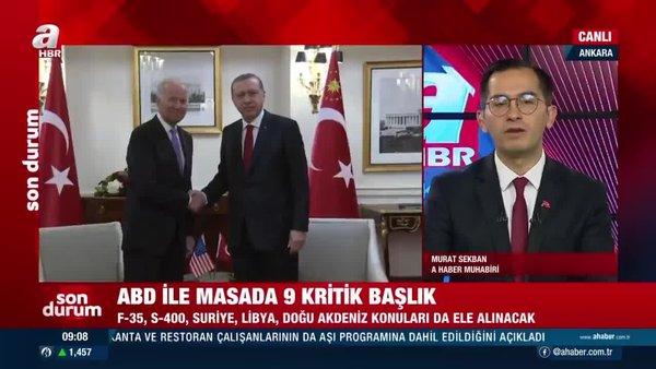 Cumhurbaşkanı Erdoğan ve ABD Başkanı Biden zirvesinde hangi konular görüşülecek?
