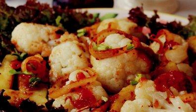 Karnabahar ve Kereviz Salatası
