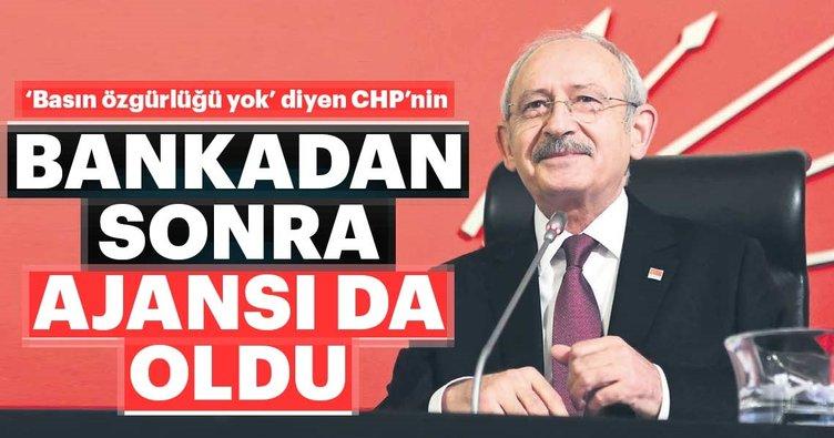 'Basın özgürlüğü yok' diyen CHP, ajans satın aldı