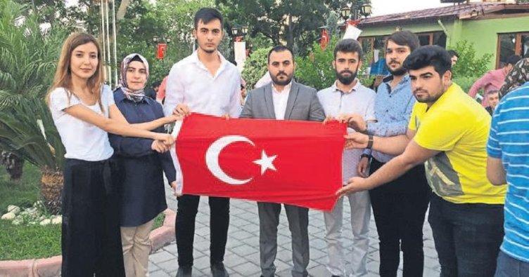 Şehitlerin emanetleri Ankara'ya uğurlandı