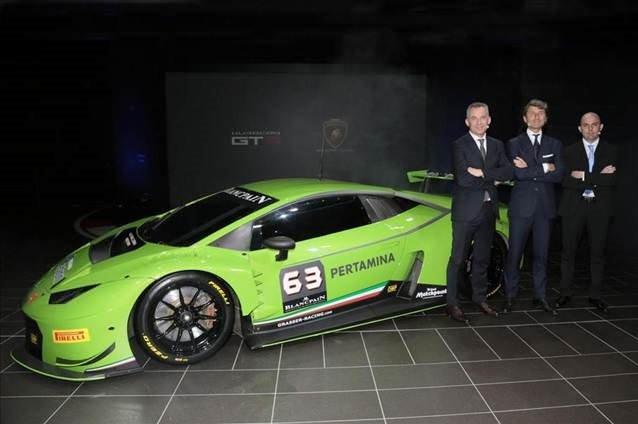 Lamborghini Huracan GT3 gün yüzüne çıktı