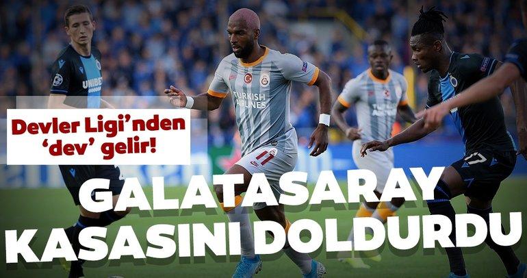 Galatasaray'a Şampiyonlar Ligi'nden dev gelir! Kasasını doldurdu...