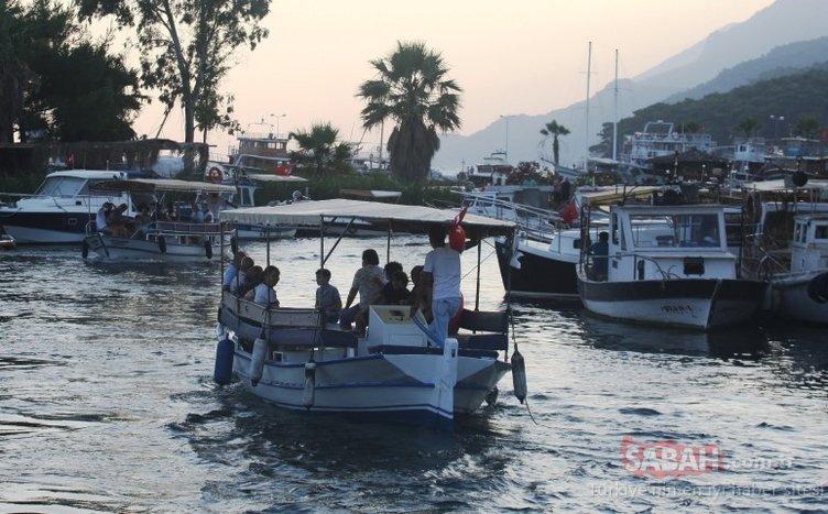 Sakin kent Akyaka'ya tatilci ilgisi