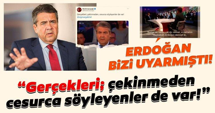 Almanya'yı sarsan itiraf! Eski Dışişleri Bakanı Sigmar Gabriel: Erdoğan bizi uyarmıştı