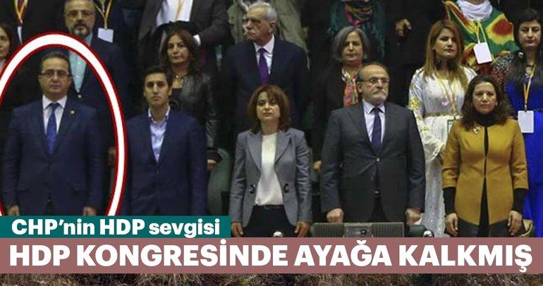 Cumhurbaşkanı'nın yemininde ayağa kalkmayanlar HDP kongresinde ayağa kalkmış