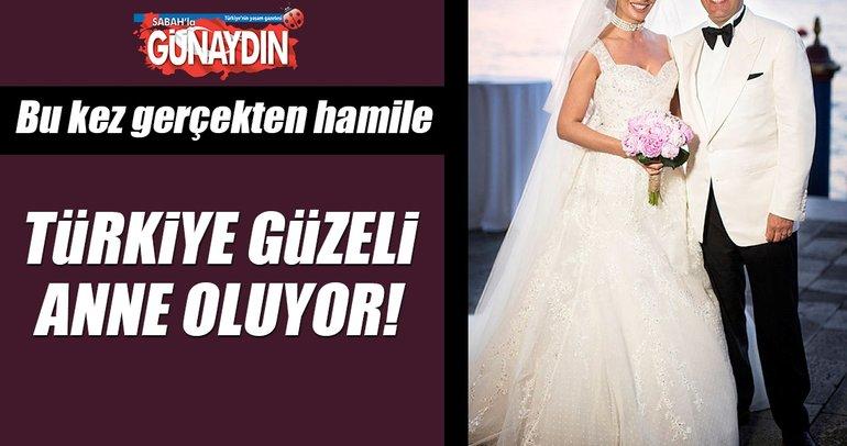 Türkiye eski güzeli Gamze Karaman Keçeli hamile
