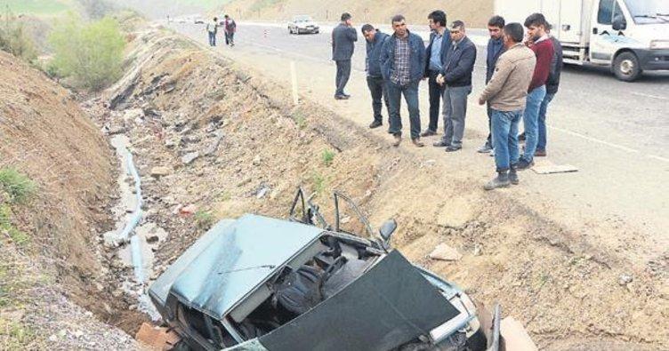 Kazalarda 10 kişi yaralandı