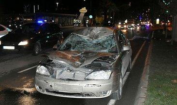 İzmir'de otomobilin çarptığı bisikletli öldü