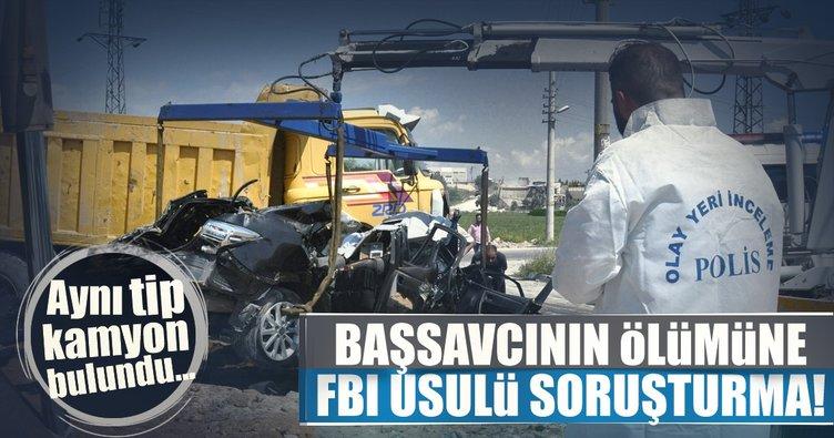 Başsavcı Mustafa Alper'in ölümüne FBI usulü soruşturma