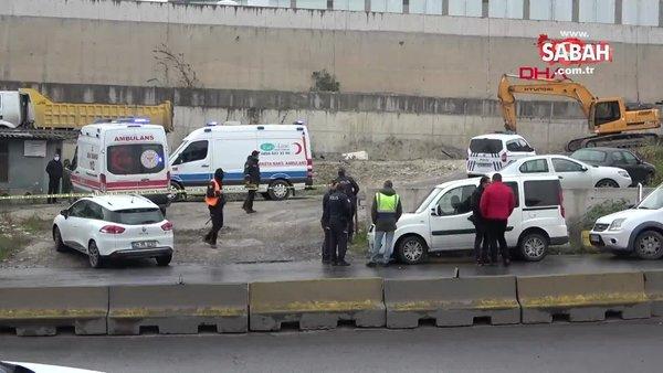 İstanbul Beylikdüzü'nde hafriyat kamyonunun altında kalan adam hayatını kaybetti| video