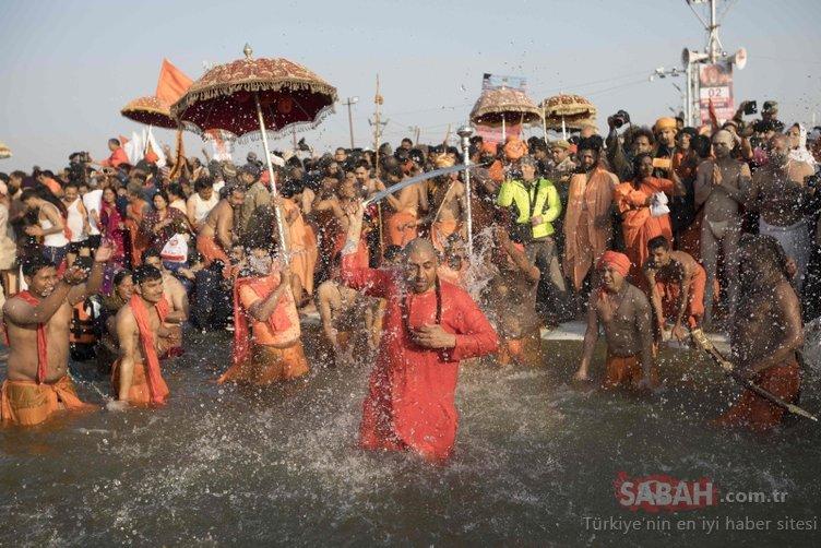 Dünyadan ilginç gelenekler! 30 milyon kişi oraya gelip...