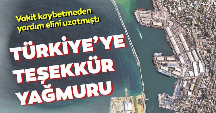 Türkiye'ye teşekkür yağmuru