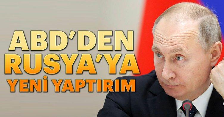 ABD'den, Rusya'ya yeni yaptırım