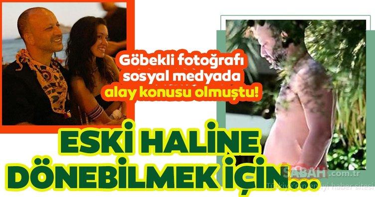 Çukur'un yıldızı Hazal Subaşı sevgilisine böyle poz verdi! Rıza Kocaoğlu'nun göbekli fotoğrafı sosyal medyada alay konusu olmuştu şimdi ise...