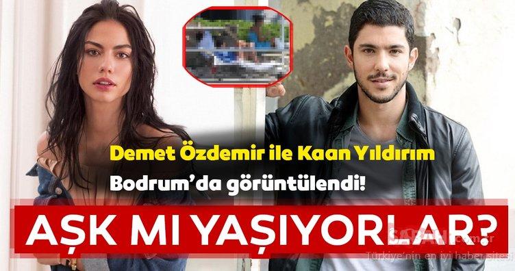 Son dakika magazin haberi: Kaan Yıldırım ile Demet Özdemir aşk mı yaşıyor? Demet Özdemir'den aşk açıklaması geldi