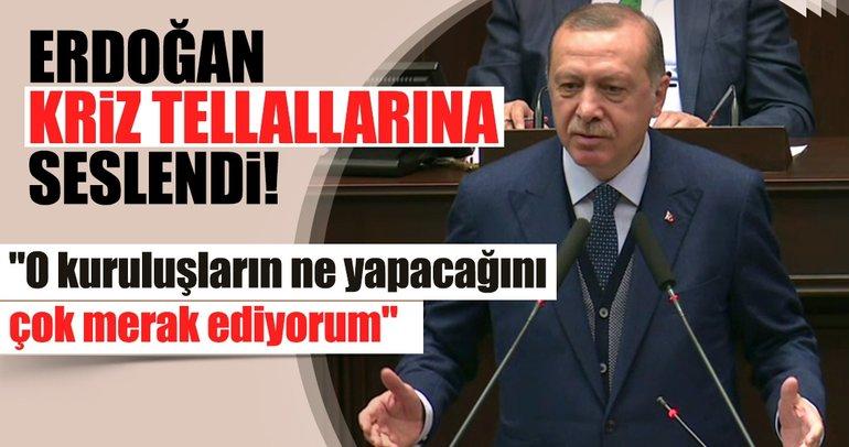 Cumhurbaşkanı Erdoğan: Kredi kuruluşlarının ne yapacağını çok merak ediyorum