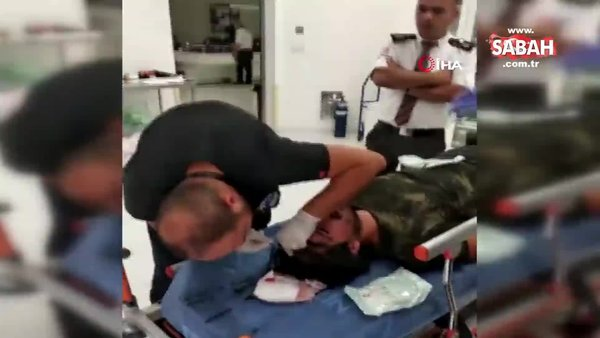 Isparta'da doktor döverek hastanelik eden baba-oğul şehir eşkıyaları kamerada!