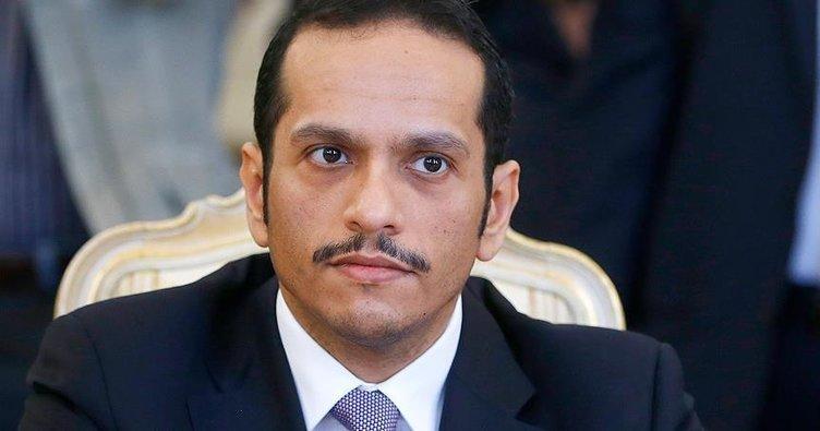 Katar Dışişleri Bakanı Al Sani, Ummanlı yetkililerle görüştü
