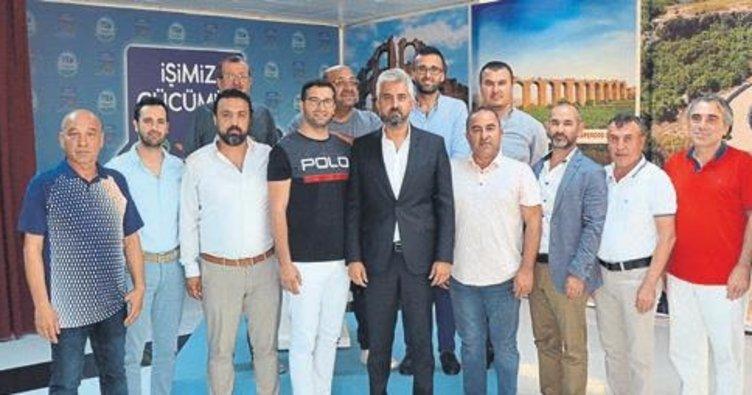 Serik Belediyespor'da yeni yönetim iş başında