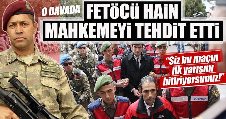 Ömer Halisdemir'in şehit edilmesi davasında FETÖ'cü hainden şok ifadeler