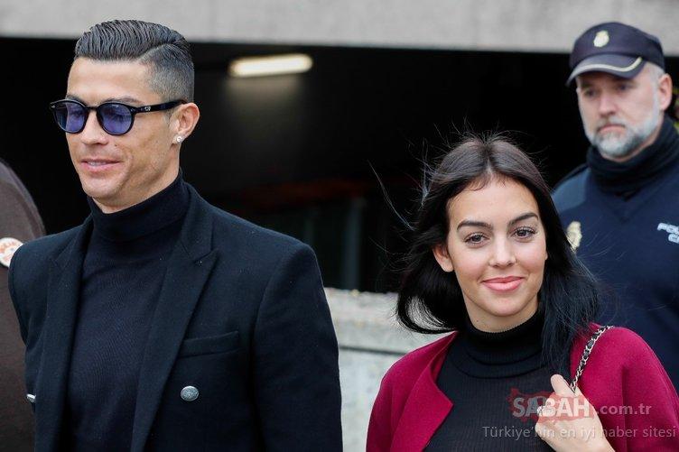 6 milyonluk nişan yüzüğünü kaptı! Cristiano Ronaldo çocuklarının annesi Georgina Rodriguez için servet hacıyor!