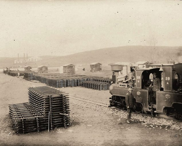 I.Dünya Savaşı'ndan kalan gizli hat yeniden inşa ediliyor