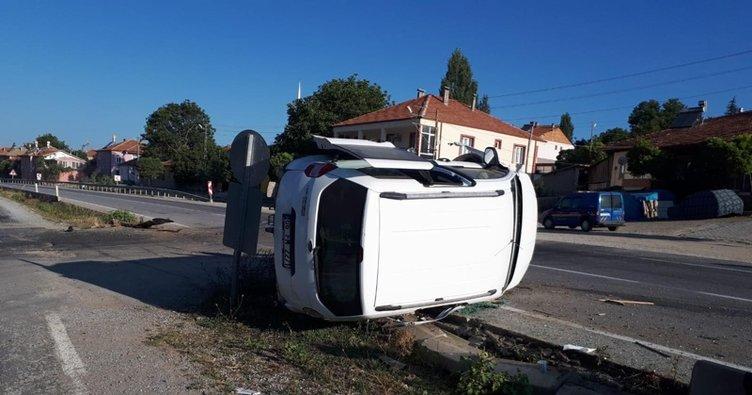 Yozgat'ta korkunç kaza! 3'ü çocuk 8 kişi ölümden döndü...