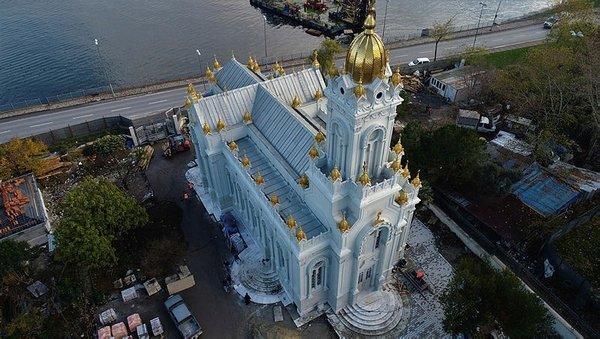 """""""Demir Kilise"""" açıldı"""