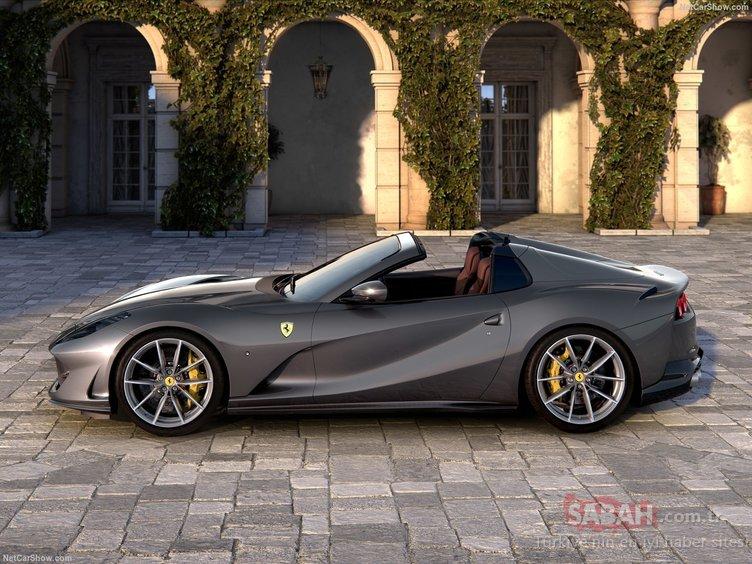 2020 Ferrari 812 GTS resmen ortaya çıktı! 800 beygir gücündeki Ferrari 812 GTS hakkında her şey