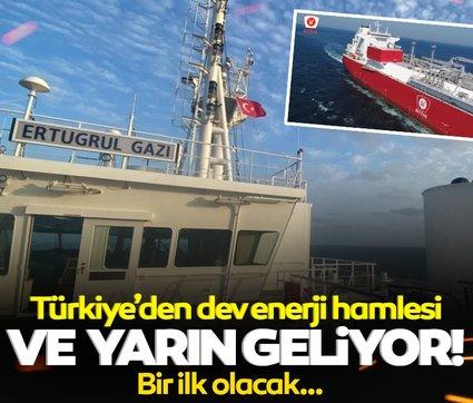Türkiye'den dev enerji hamlesi: Ve yarın geliyor! Bir ilk olacak...