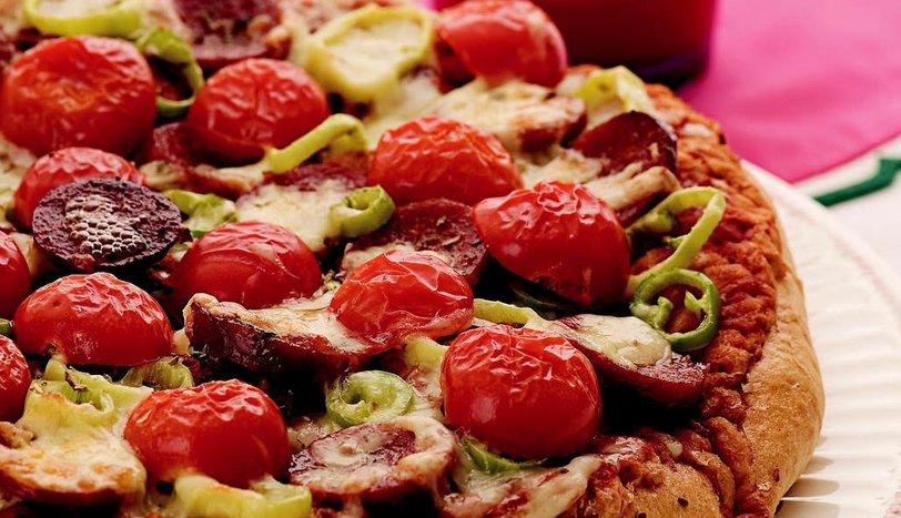 Pide Pizza Tarifi Börekler çörekler Ve Poğaçalar Sofra