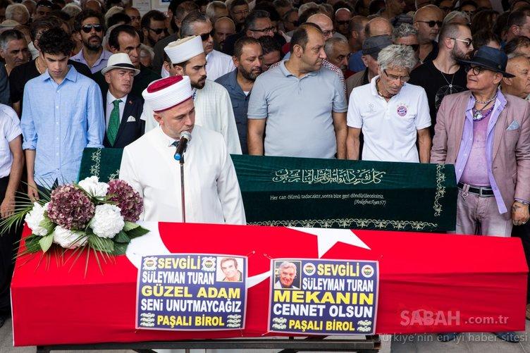 Yeşilçam'ın usta oyuncusu Süleyman Turan son yolculuğuna uğurlandı