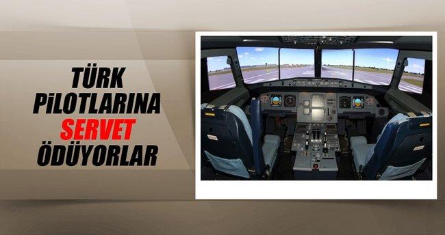 Türk pilotlara servet teklif ediyorlar