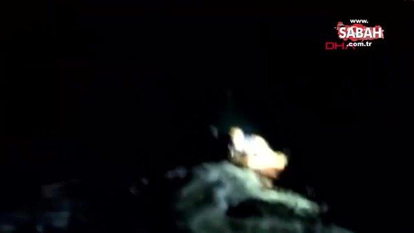 Feribottan denize düşen yolcu, bir saat sonra baygın halde bulundu | Video