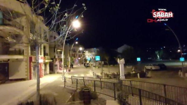 Muğla Datça'da 4.2 büyüklüğünde deprem! Deprem sonrası ilk görüntüler...
