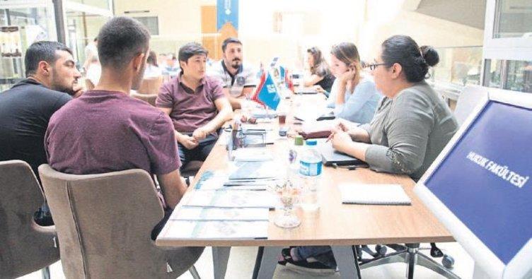 HKÜ'de öğrenci adaylarına doğru tercih hizmeti veriliyor