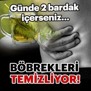 Günde 2 bardak içerseniz böbrekleri temizliyor!